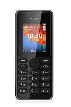 Mobile nu 108 Dual SIM Noir Nokia
