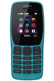 Téléphone portable Nokia 110 BLEU