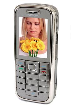 Smartphone 6233 GRIS Nokia