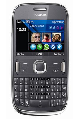 Nokia ASHA 302 GRIS