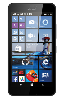 Mobile nu LUMIA 640 XL NOIR Nokia