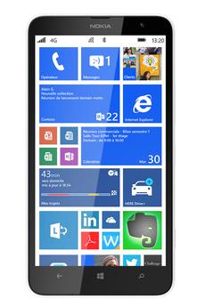 Mobile nu Lumia 1320 Blanc Nokia