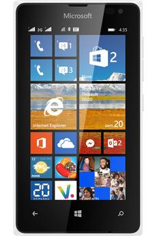 Mobile nu LUMIA 435 DUAL SIM BLANC Nokia