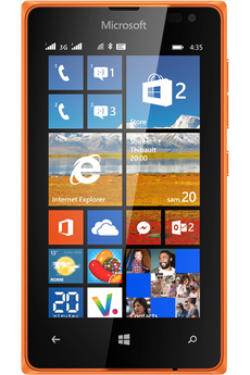 Mobile nu LUMIA 435 DUAL SIM ORANGE Nokia