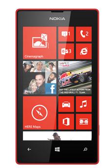 Mobile nu Lumia 520 Rouge Nokia