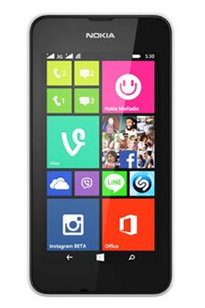 Mobile nu LUMIA 530 BLANC DUAL SIM Nokia