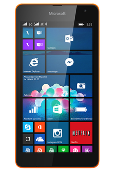 Mobile nu LUMIA 535 ORANGE Nokia