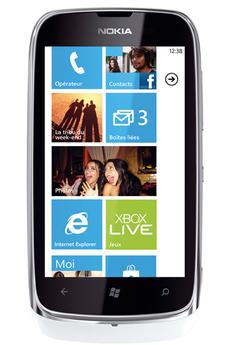Mobile nu LUMIA 610 BLANC Nokia