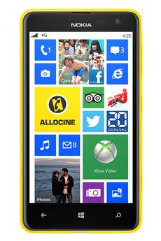 Mobile nu LUMIA 625 JAUNE Nokia