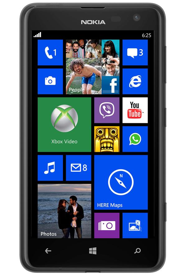 smartphone nokia lumia 625 noir lumia 625 noir 3799646 darty. Black Bedroom Furniture Sets. Home Design Ideas
