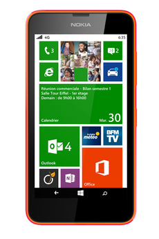 Mobile nu LUMIA 635 ORANGE Nokia