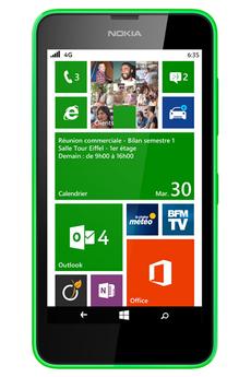 Mobile nu LUMIA 635 VERT Nokia