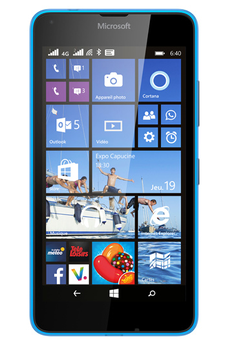 Mobile nu LUMIA 640 DUAL SIM BLEU Nokia