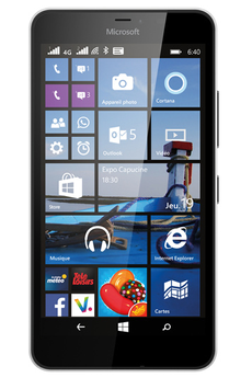 Mobile nu LUMIA 640 XL DUAL SIM BLANC Nokia