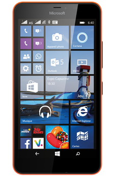 Smartphone LUMIA 640 XL DUAL SIM ORANGE Nokia
