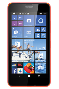 Mobile nu LUMIA 640 DUAL SIM ORANGE Nokia