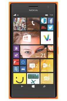Mobile nu LUMIA 735 ORANGE Nokia