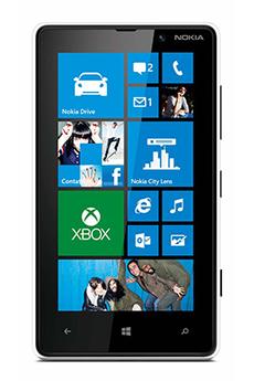 Mobile nu LUMIA 820 BLANC Nokia