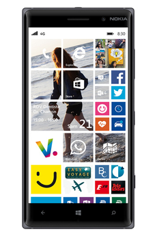 Mobile nu Lumia 830 Noir Nokia