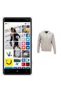 Nokia PACK LUMIA 830 VERT + 1SWEAT HODDIEBUDDIE AVEC ÉCOUTEURS ET MICRO INTÉGRÉS offert