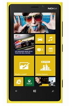 Mobile nu LUMIA 920 JAUNE Nokia