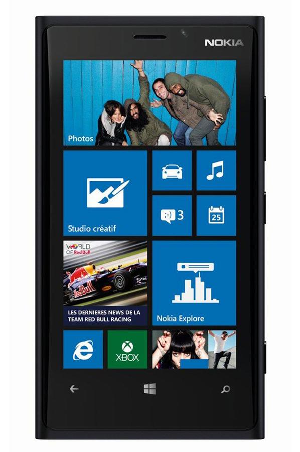 smartphone nokia lumia 920 noir 3683575 darty. Black Bedroom Furniture Sets. Home Design Ideas