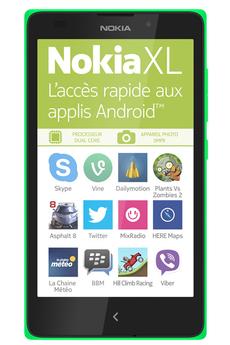 Smartphone XL Vert Nokia