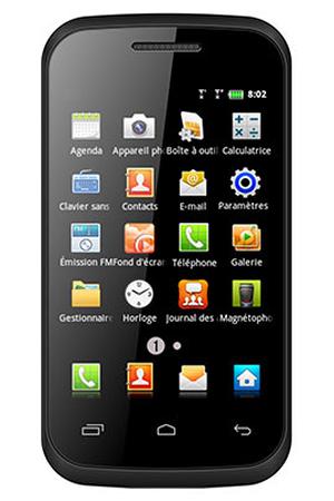 6ba6d4980e Smartphone Polaroid PRO G40 NOIR | Darty