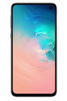 Smartphone Samsung Galaxy S10E Blanc 128Go
