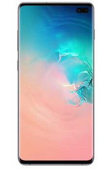 Samsung Galaxy S10+ 128 Go Blanc Prisme