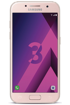 Mobile nu GALAXY A3 2017 ROSE Samsung