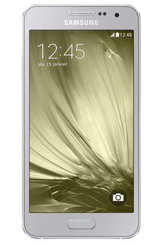 Mobile nu GALAXY A3 SILVER Samsung
