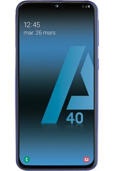 Smartphone Samsung Galaxy A40 bleu 64Go