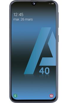 Smartphone Samsung GALAXY A40 noir 64Go