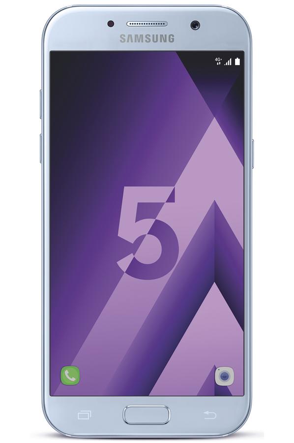 smartphone samsung galaxy a5 2017 bleu 4287347 darty. Black Bedroom Furniture Sets. Home Design Ideas