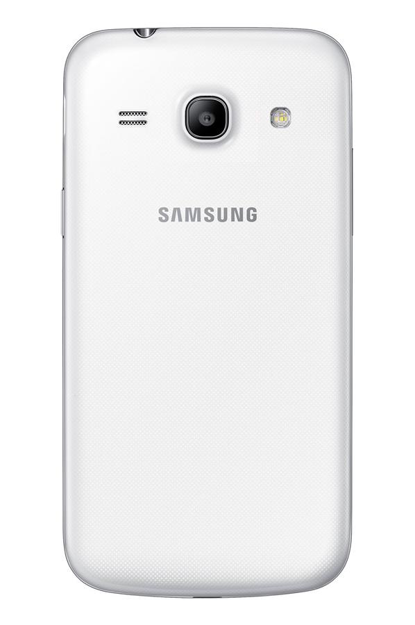 smartphone samsung galaxy core blanc 3846105 darty. Black Bedroom Furniture Sets. Home Design Ideas