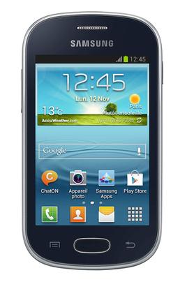 Mobile nu Samsung Galaxy Fame Lite Noir