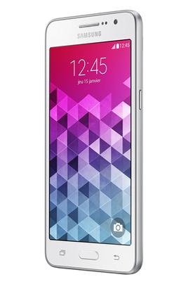 Mobile nu Samsung GALAXY GRAND PRIME BLANC