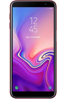 Smartphone Samsung Galaxy J6+ Rouge 32 Go