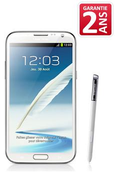 Mobile nu GALAXY NOTE 2 BLANC Samsung