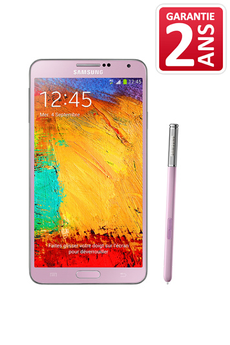 Mobile nu Galaxy Note 3 Rose Samsung