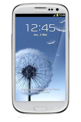 Mobile nu Galaxy SIII 16Go Blanc Samsung