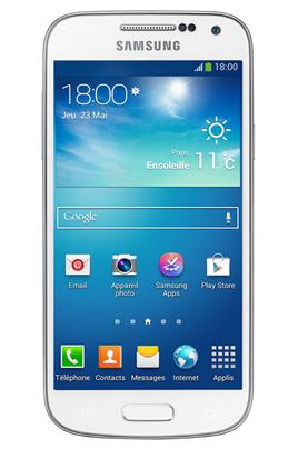 smartphone samsung galaxy s4 mini blanc 3778096 darty. Black Bedroom Furniture Sets. Home Design Ideas