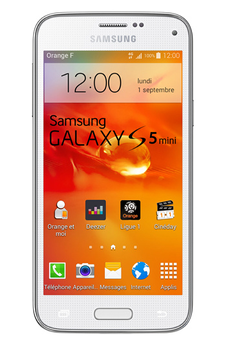 Mobile nu GALAXY S5 MINI BLANC Samsung