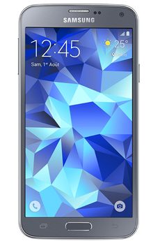 Mobile nu GALAXY S5 NEW SILVER Samsung