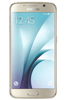 Mobile nu GALAXY S6 32GO OR STELLAIRE Samsung