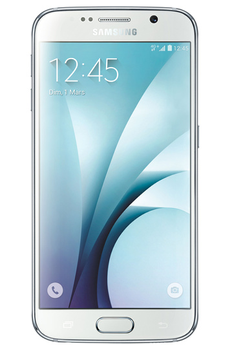 Mobile nu GALAXY S6 32GO BLANC ASTRAL Samsung