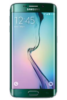 Mobile nu GALAXY S6 EDGE 32 GO VERT Samsung