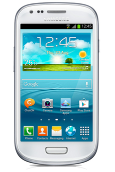 Mobile nu Galaxy SIII Mini Blanc Samsung