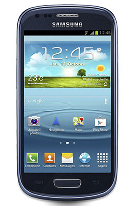 Samsung GALAXY SIII MINI BLEU